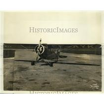 1936 Press Photo Eaglet Plane by Porterfield Aircraft Corp of London Flying Club
