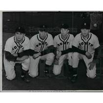 1950 Press Photo South High Baseball 1950 - cvb58451