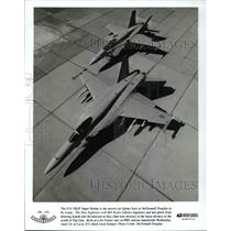 Press Photo The F/A-18E/F Super Home-newest jet - cvb67784