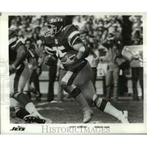 Press Photo Scott Dierking, Running Back for the Jets - cvb69293