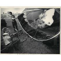 1966 Press Photo 11th annual Great Wisconsin Dells Balloon Rally - mja01065