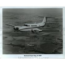 1985 Press Photo Beechcraft King Air B200 - mja01486