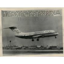 1965 Press Photo The new Douglas DC9 twin-jet transport - mja01517