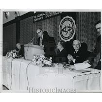 1971 Press Photo The Journal Company Business Dinner  - mja20265