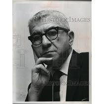 1965 Press Photo Herbert Aptheker, a leader of the American Communist party