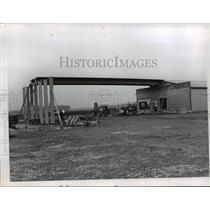 1967 Press Photo Casement Airport at Painsville Carplane Port - nee97989