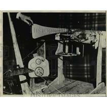 1929 Press Photo Automatic Pilot - nef02869
