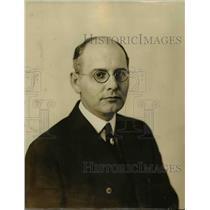 1923 Press Photo Dr. R.C. Roueche, Chairman Cleveland Safe Drivers Club