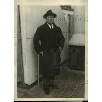 1926 Press Photo Chilean Consul Acario Cotapos in New York - nef06423