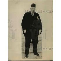 1924 Press Photo Ahmed Ziwar Pasha, Egypt Premier - nef06438