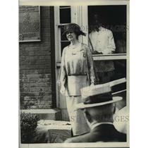 1923 Press Photo Catherine Nagle, DAR State Historian - nef06499