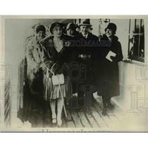 1929 Press Photo Ms.Edda Mussolini daughter of Premier of Italy - nef06659