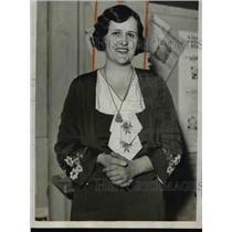 1932 Press Photo Mrs.John W Jackson of Iowa,Champion Farm Woman Speaker