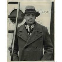 1930 Press Photo Capt. Ernest Griesback of Collingwood Ont. - nef06696