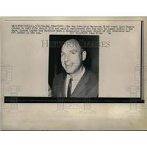 1966 Press Photo Fired San Francisco Warriors coach Alex Hannum - net01608