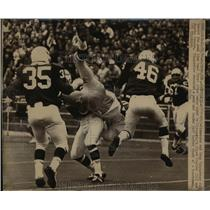 1970 Press Photo Minnesota Vikings end Doug Kingsriter falls to goal line