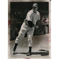 1940 Press Photo Detroit Tigers pitcher Buck Newsome - net02307