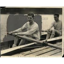 1927 Press Photo Yale University varsity crew captain Fred Robinson - net02894