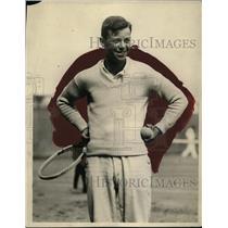 1922 Press Photo Armand Marion Pacific Northwest tennis champ - net03794