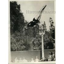 1925 Press Photo Champion diver Herriette Neilson - net04131