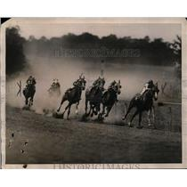 1922 Press Photo Yonkers Empire track Cromwell wins vs Star Court, Halus