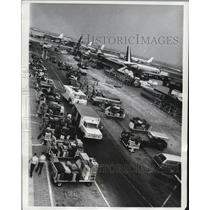 1968 Press Photo John F Kennedy International Airport at Busy Time - ney19035