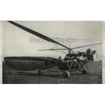 1933 Press Photo Foolproof Hoverplane Tested in Heston, England - mjz02088