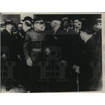 1923 Press Photo Spanish General Miguel Primo de Rivera & Military Chiefs