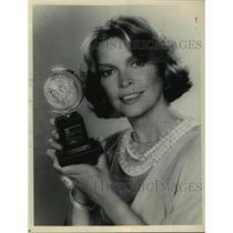"1981 Press Photo Ellen Burstyn, host of ""The 35th Annual Tony Awards"""