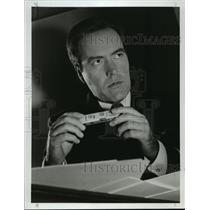 1990 Press Photo Actor Powers Boothe plays as master spy John Walker Jr.