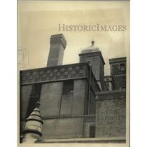 1933 Press Photo View of Tombs Prison, New York Coty Where Inmates Escaped