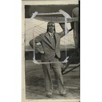 1928 Press Photo Pilot Red Jackson of Van Hoffmann Aircraft Company - ney19155