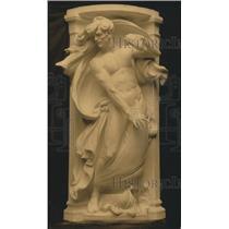 1919 Press Photo Panel Statue for Memorial Fountain - ney20878