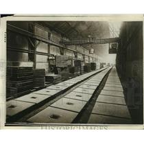1928 Press Photo Foundry at Newton-Champers Company - ney21210