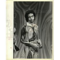 1981 Press Photo John Burstein as Slim Goodbody - mja30999