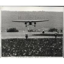 "1964 Press Photo Ford ""Tin Goose"" Plane Landing at Reading, Pennsylvania Airport"