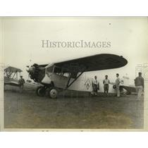 1928 Press Photo Fairchild Monoplane Piloted by Whitin Whittall - ney19597