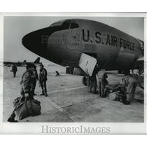 1977 Press Photo 128th Air Refueling Group of Air Nat. Guards, Mitchell Field