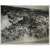 1932 Press Photo U.S. Army Planes Approaching Los Angeles Couty Park - ney21729