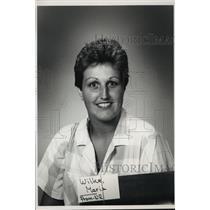 1988 Press Photo Maria Wilke, Milwaukee Journal Sentinel Employee - mja33088