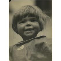 1921 Press Photo Baby Duganine - ney20949