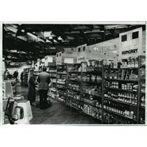 1989 Press Photo Woodlake Market in Kohler draws customers from a wide area