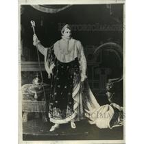 1935 Press Photo LeFevre's painting of Napoleon Bonaparte, Emperor of the French
