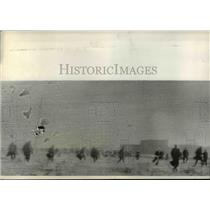 1932 Press Photo Four People Killed When Detroit Police Clash With 3000 Marchers