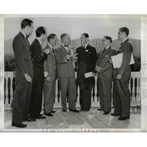 1944 Press Photo Cuban Delegates to the United Nations Monetary and Financial