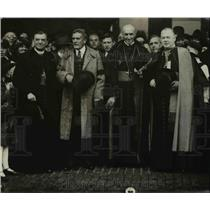 1919 Press Photo Cardinal Mercier in Cleveland - nef12360