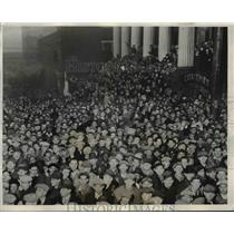 1932 Press Photo Rev,James R.Cox organize demonstration to Washington