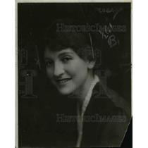1917 Press Photo Blanca Errázuriz, Killed Husband John de Saulles - nef13850