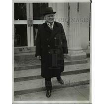 1933 Press Photo AFL President William Green at White House - nef13917