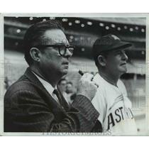 1965 Press Photo Lum Harris of the Houston Astros - net20291